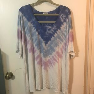 Avenue tie dyed shirt
